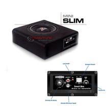 "Caixa amplificada Mini Slim com subwoofer 8"" 120WRMS - Boog"