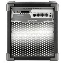 Caixa Amplificada Multiuso  Bluetooth, USB, Radio FM, Auxiliar 100W LC 250 APP Preta 31589 - FRAHM