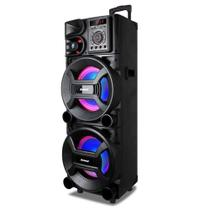 Caixa Amplificadora Amvox ACA 1501 1500W RMS USB Bluetooth -