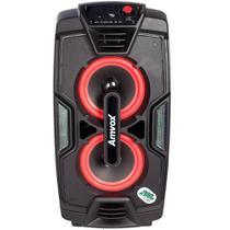 Caixa Amplificadora Amvox Bluetooth 200W RMS ACA 200 Preta -