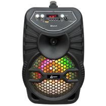 Caixa Amplificadora Lenoxx CA 100, Entradas USB/SD/AUX e para microfone, Rádio FM, MP3, Bluetooth e 120W -