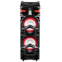 Caixa Amplificadora Lenoxx CA 3900, Entradas USB/SD/AUX e para microfone, Rádio FM, MP3, Bluetooth e 1.000W RMS -