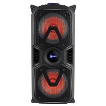 Caixa Amplificadora Lenoxx CA 400, Entradas USB/SD/AUX e para microfone, Rádio FM, MP3, Bluetooth e 200W -