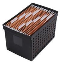 Caixa Arquivo Guardar Pastas Papéis Escritório Ordene Office -