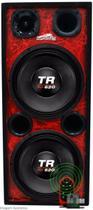 Caixa Ativa 2 Woofer Triton 620 + Taramps 3000 Trio Longa - Oestesom