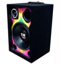 Caixa Ativa Colorida Alto Falante Triton + Modulo Taramps 400x4 - Oestesom