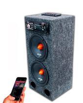 Caixa Ativa Radio Bluetooth + Falante Triton + Modulo Taramps - Oestesom