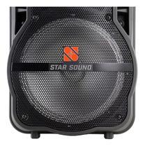 Caixa ativa star soud ss100 com microfone - Staner