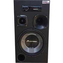 Caixa auto. Residencial Bluetooth Room Pioneer Ts-W3060 Completa - Vinisound