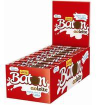 Caixa Batom Chocolate Ao Leite Garoto C/30 Unid 16g -