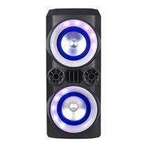 Caixa bluetooth 300w mini torre sp379  multilaser -