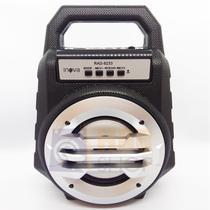 Caixa Bluetooth Portátil FM, SD, USB Recarregável 26cm Altura - RAD-8233 Prata - Inova