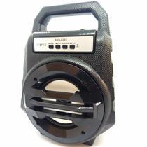 Caixa Bluetooth Portátil FM, SD, USB Recarregável 26cm Altura - RAD-8233 Preta - Inova
