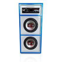Caixa Bob Bluetooth Bravox 6 Pol. Rádio Pioneer 100w Rms - Aquiles