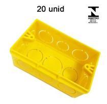 Caixa caixinha de Luz Amarela Anti Chamas ILUMI -