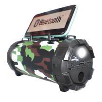 Caixa Caixinha Som Bluetooth Microfone Usb P2 Mp3 Fm Grasep - D-P13