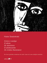 Caixa Cinco Grandes Romances De Dostoiévski - Editora 34