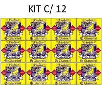 Caixa com 12 Jogos de Encordoamento Canário Giannini GENWB para Violão Náilon -