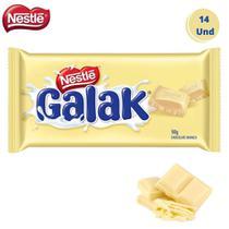Caixa com 14 Barras Chocolate Galak Branco Nestle 90g - Nestlé
