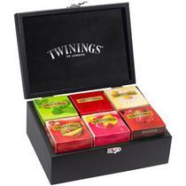 Caixa Com 6 Pacotes de Chá em Madeira Twinings -