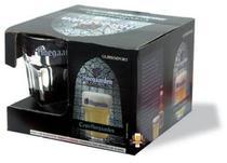 Caixa conjunto com 4 copos hoegaarden (400ml) -