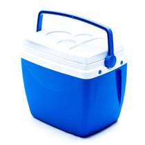 Caixa cooler termica 34 litros com alca porta copos - MOR