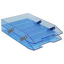 Caixa correspondência dupla articulável azul Acrimet -