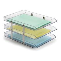 Caixa Correspondencia Tripla Fixa Cristal - Waleu