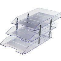 Caixa Correspondencia Tripla Movel Articulavel Cristal - Acrimet