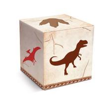 Caixa Cubo Mundo dos Dinossauros 08 unidades  Cromus - Festabox