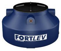 Caixa De Água 2.500L Polietileno Tampa Rosca Azul - Fortlev