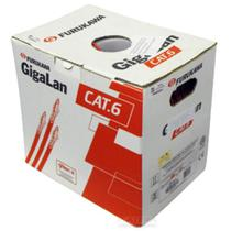 Caixa De Cabo De Rede Cat6 Furukawa Gigalan Original 305Mts -