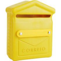 Caixa De Correio / Correspondência PVC 26x19x10cm Unifortte -