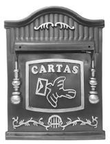 Caixa de Correio PVC Colonial 26P Prata Real -