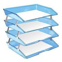 Caixa de correspondencia facylity lateral quatro andares azul cl 256.2 - Acrimet