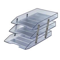 Caixa de Correspondencia Tripla Movel Cristal 1 UN Acrimet -