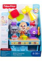 Caixa de Ferramentas Cachorrinho Fisher-Price Aprender e Brincar GFX37 - Mattel -