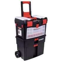 """Caixa de Ferramentas Com Rodas 24.1/2"""" Worker -"""