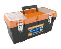 Caixa de Ferramentas Fecho Articulado de Metal 50x22x24Cm - Metasul