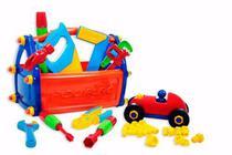 Caixa de Ferramentas infantil com Acessórios  - Poliplac -