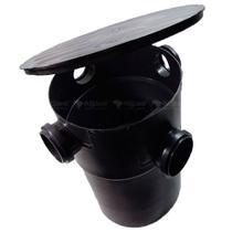 Caixa de Gordura Sifonada 32 Litros com cesto de Limpeza - Madareli