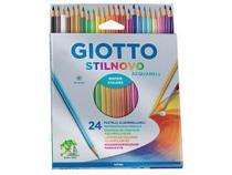 Caixa de lápis de cor 24 Peças Giotto - Stilnovo Acquarell -