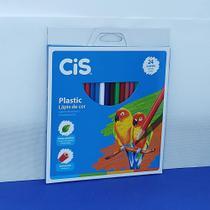 Caixa de Lápis de Cor CIS com 24 cores -