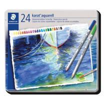 Caixa de Lápis de Cor Karat Aquarell - 24 Cores - Staedtler
