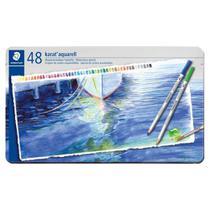 Caixa de Lápis de Cor Karat Aquarell - 48 Cores - Staedtler