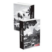 Caixa de livro madeira Coca-cola landscape Rio de Janeiro - Pop Home