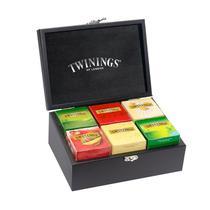 Caixa de Madeira para Chás com 60 saches Twinings -