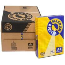 Caixa de Papel Sulfite Magnum A4 75g com 10 pacotes -