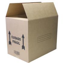 Caixa de Papelao para Transporte e Mudanca 60x40x50cm 1 UN Frugis -