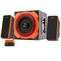 Caixa De Som 2.1 Grande Gamer 50w Rms Warrior SP266 - Multilaser